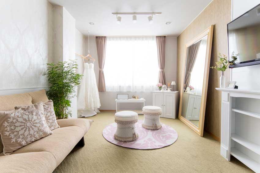 長崎県 結婚式場 ザ・マーキーズ Preparation room fee