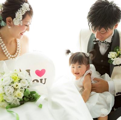 マーキーズ ウェディング プラン 【マタニティ-婚プラン】 パパママのための特別プラン!2021年内のご成約で特典も!